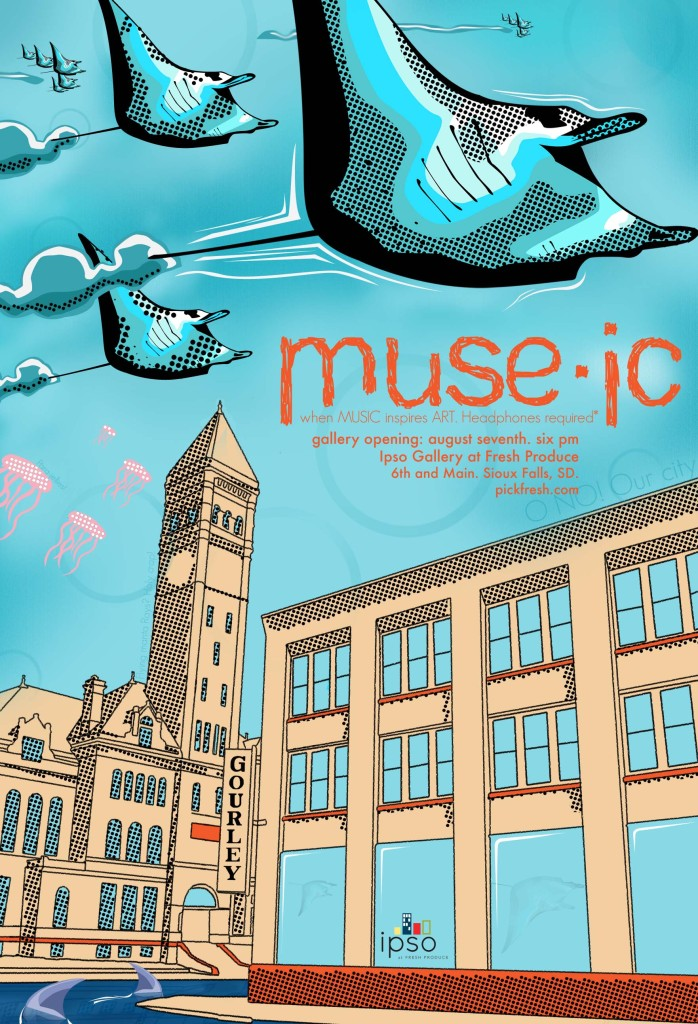 Muse-ic - When MUSIC inspires ART